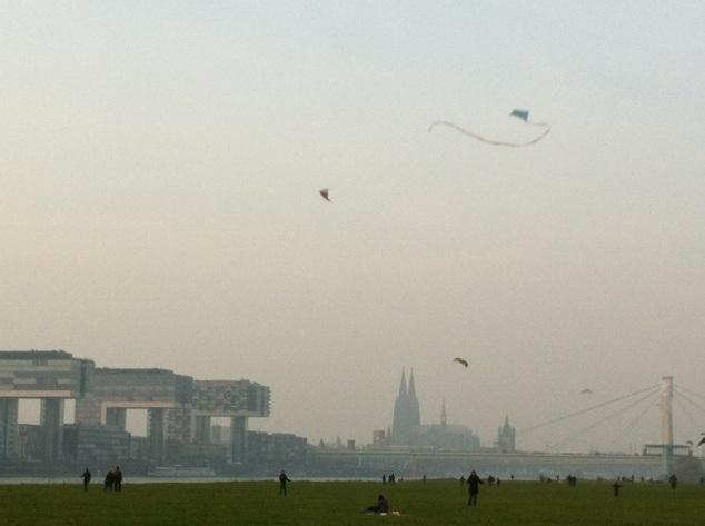 Poller Wiesen – Drachen-Paradies