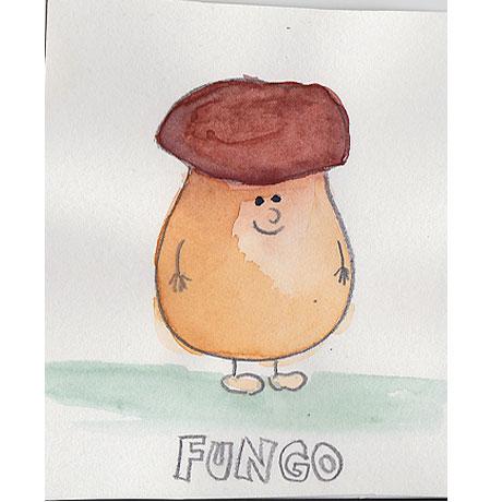 Fungo, der sehr kleine Glückspilz