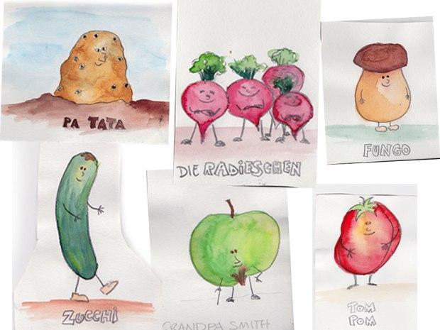 Die Gemüse-Gäng