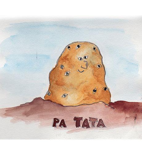 Pa Tata, der Chef der Gemüse-Gäng