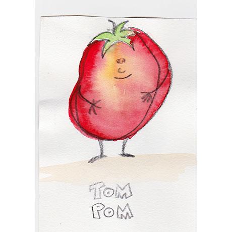 Tom Pom, der schüchterne Pechvogel