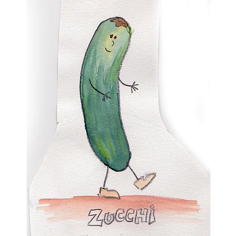Zucchi, der gutmütige Lulatsch